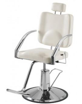sillón para maquillajes blanco