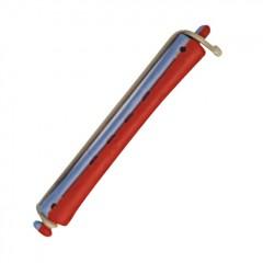 Bigudí plastico largo nº5 Rojo-Azul.