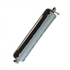 Bigudí plástico largo nº7 Gris-Negro.
