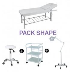 Pack cabina Estetica Shape