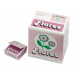 Papel permanente Flores 20 X 200 Ud.