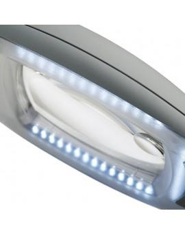 lupas de estetica con pie luz led 5 aumentos