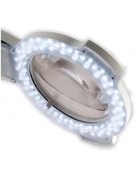 lupas de estetica con pie luz led