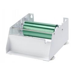 Soporte rollo papel aluminio pequeño.