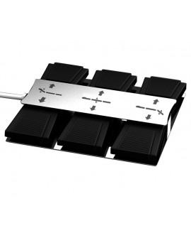 Pedal control camilla 3 motores