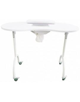 mesa de manicura plegable