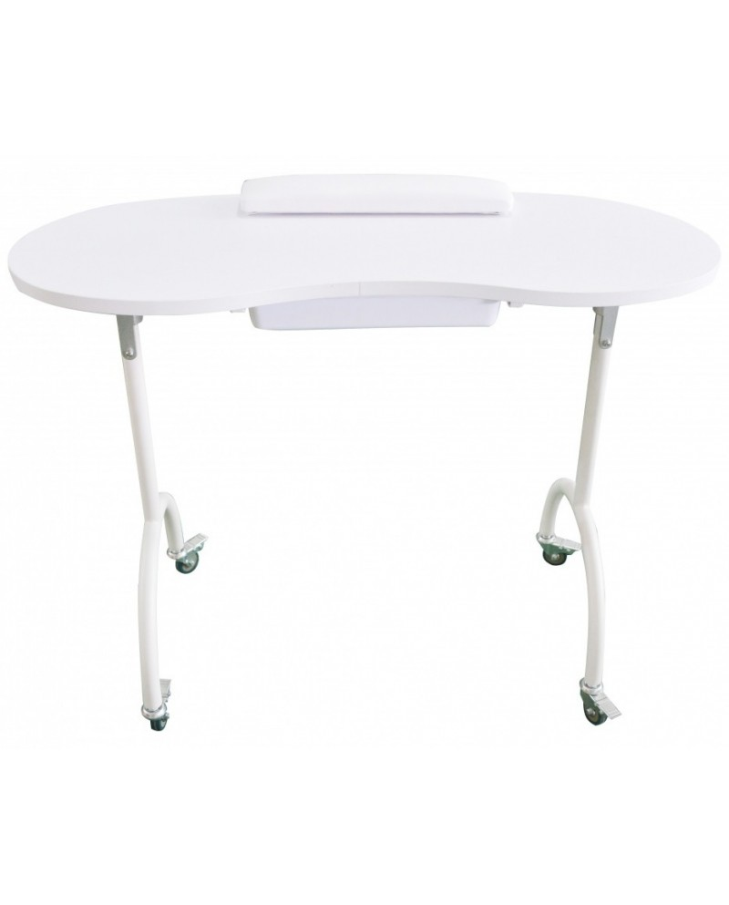 mesa de manicuras pleglabe