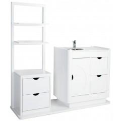 Mueble auxiliar con Lavabo y estantes