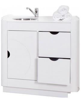 mueble auxiliar para cabinas de estetica o clinicas