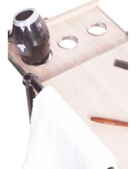 Carrito de madera Tubular Roble