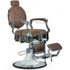 Sillón barbero Salón Barber Cromo