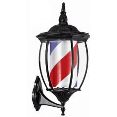 Polo Poste Barbero Retro Farol con luz 58cm