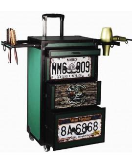 Carrito maletin con ruedas Barbero