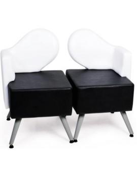 sillones de espera peluquerias y spa