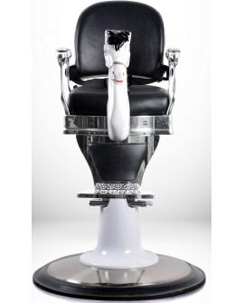 sillones para niños barberia retro