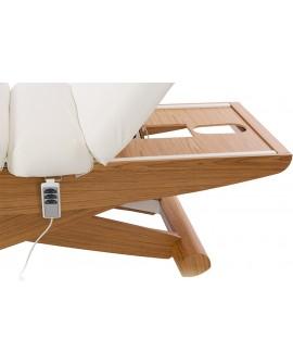 Camillas eléctrica para spa de madera