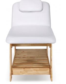 camillas de madera natural estetica