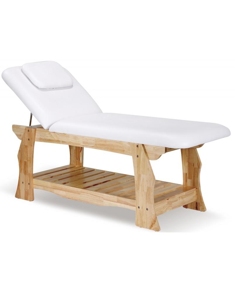 camillas de madera spa