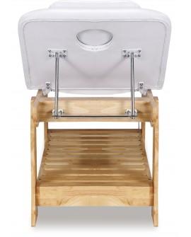 camillas para spa de madera