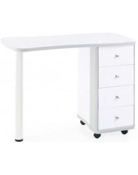 mesas de manicura blanca