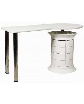 mesas de manicura con cajones
