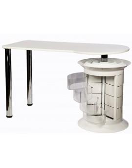mesas para manicuras blanca