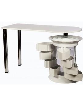 mesa de manicuras blanca