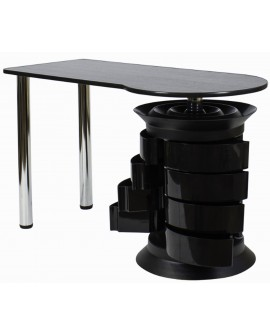 mesas de manicura negra