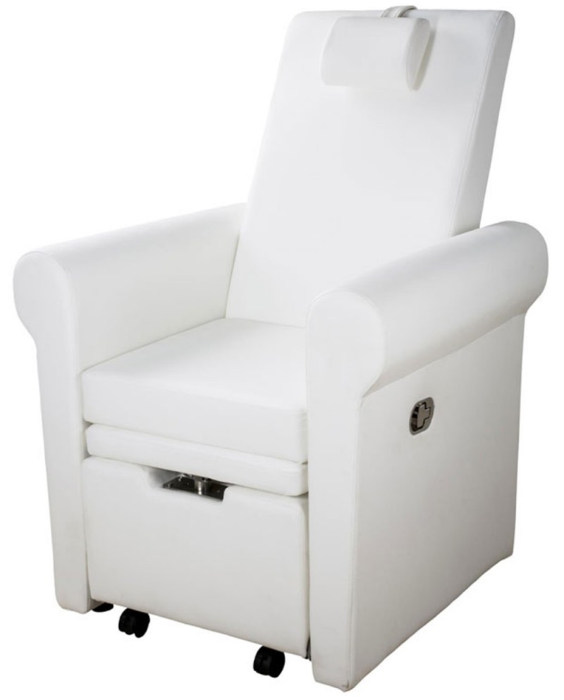 sillon pedicuras reclinable