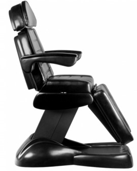 sillón de podologia negro