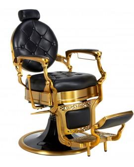 Sillón barbero Salon Barber Gold