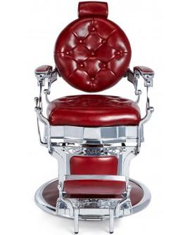 Sillon barbero Salon Barber Rojo