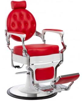 Sillón Barbero Barber Mae Rojo