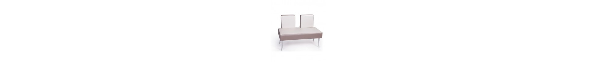 Mobiliario para zonas de espera en barberías - Sofas y sillones retro vintage para barberia